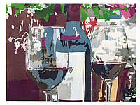 Картина по номерам Вино для двоих