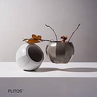 """Кашпо """"facetos"""" из бетона вазон ваза горшок для суккулентов подсвечник корпоративный подарок"""