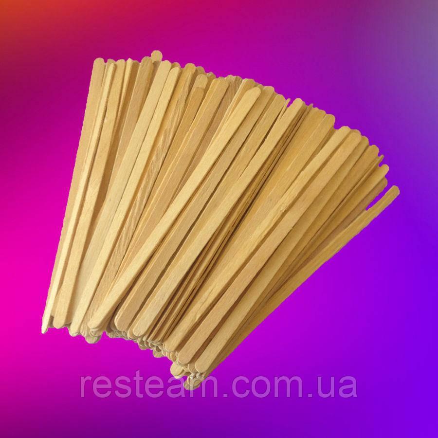 Мешалка деревянная  толстая в зип-пакете 800шт