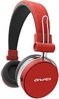 Наушники для телефона накладные AWEI A700BL Black-Red