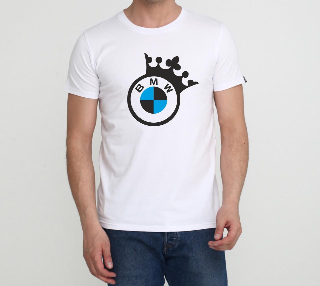 Футболка BMW Crown біла