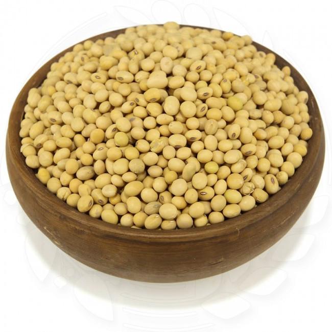 Соя органическая 20 кг. сертифицированная без ГМО