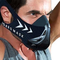 Спортивная маска FDBRO для бега, фитнеса, спорта размер S, M, L черная