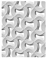 Гипсовые 3D-перегородки Абстракт Texturo™