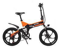 Електровелосипед Maxxter RUFFER MAX (black-orange), фото 1