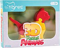 Игрушка развивающая: 3D пазлы Животные 39356 (Кот)
