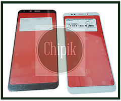 Стекло для переклейки дисплея Xiaomi Redmi 5 Plus, белое
