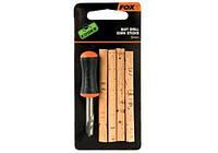Набор сверло и пробковые палочки FOX EDGES Bait Drill & Cork Sticks 6mm