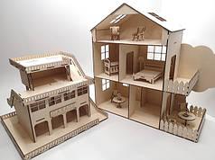 Кукольный домик и гараж