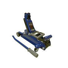 Домкрат підкатний 2 т з поворотною ручкою 180 градусів (h min 105мм, h max 350мм)