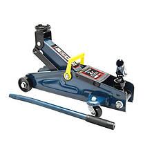 Домкрат подкатной 2 т с вращающейся ручкой 180 градусов(h min 140мм, h max 340мм,вес 10 кг) в кейсе