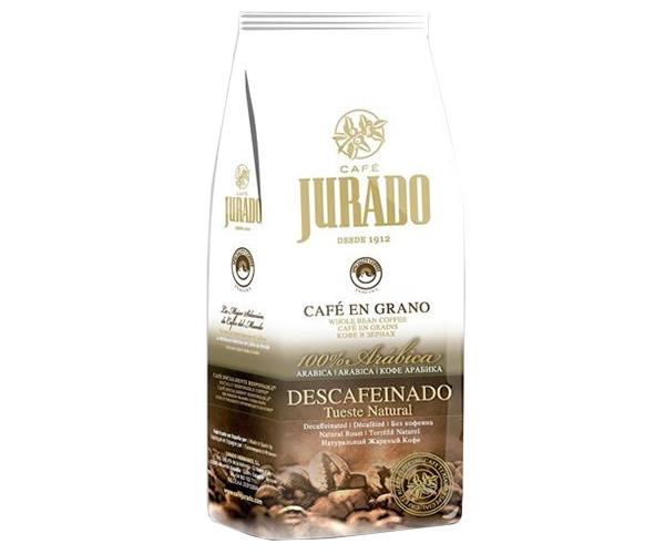 Кофе Jurado 100% Арабика (без кофеина) в зернах 1000 г