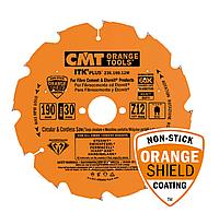 Диск CMT D160х20 х2.4х1,8 Z10, алмазный для твердых материалов (Арт. 236.160.10H)