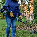 Потужній безщітковий акумуляторний  садовий тример  Scotts LCT1562S   62V з акум.2,5 А.г. (155 Вг), фото 7