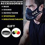 Спортивная маска FDBRO для бега, фитнеса размер S, M, L розовая, фото 7