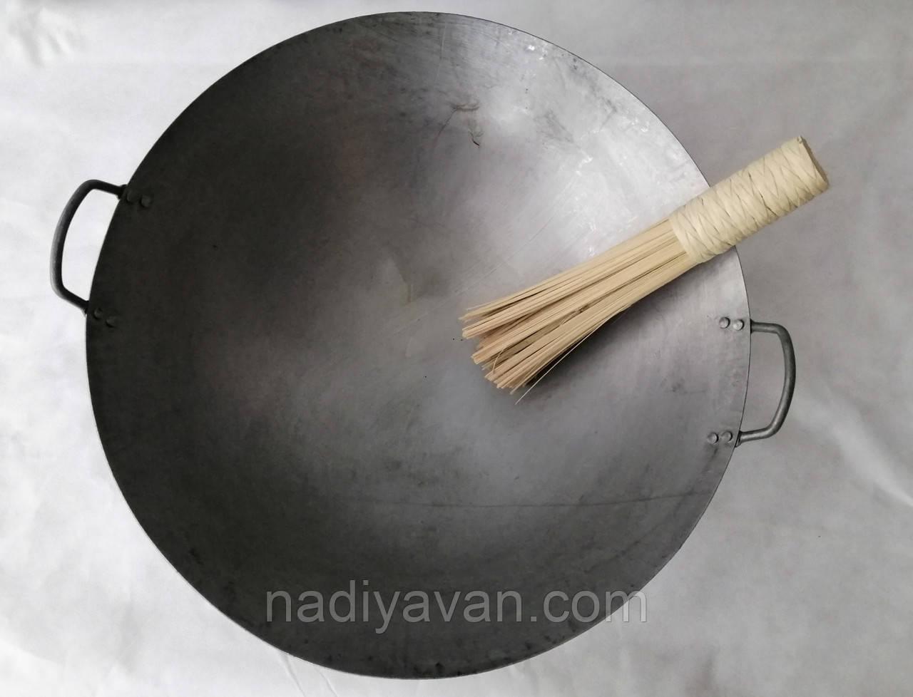 Сковорода из прокатной стали Вок 49*17