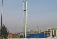 Труба дымовая на растяжках 530 мм, 30 м.
