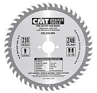 Пильный диск  CMT D125х20х2,4х1,4 Z36, поперечный рез (Арт. 292.125.36H)