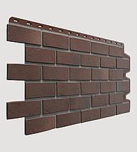 Фасадная панель Docke Berg коричневая (кирпич)