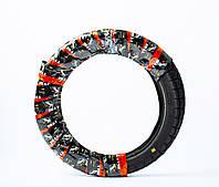 Резина для мотоцикла 3.50 - 18 шоссейная + камера  Иж Юпитер, Планета, ЯВА