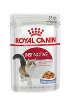 АКЦІЯ! Royal Canin Intensive in Jelly вологий корм для кішок 0,085 КГ 8+4шт