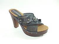 Женские сабо босоножки на каблуке 37р