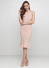 Бежева сукня H&M однотонне