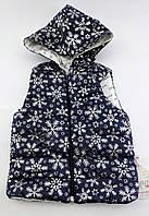 Безрукавка для девочки курточка  1 2 года Турция