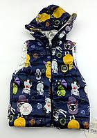 Безрукавка для девочки курточка  1 2 года Турция (КД007)