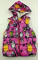 Безрукавка для девочки курточка  1 2 года Турция (КД0071)