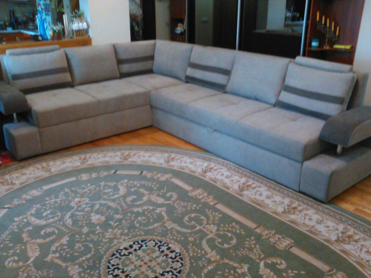 Большой мебельный набор в гостиную. Мебель на заказ Днепр.