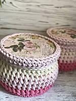 Круглое донышко для вязания 12 см
