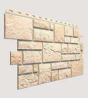 Фасадная панель Docke Burg пшеничная (камень)