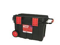 Ящик-контейнер на колесах Tayg Profesional 53 модульный, для инструментов + 2вкладки 77,5*47,2*49,3см (153006)