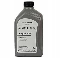 Оригинальное моторное масло VAG LongLife III 0W-30 1л (GS55545M2)