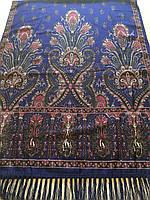 Шарф палантин Фіолет з орнаментом 170*70 см