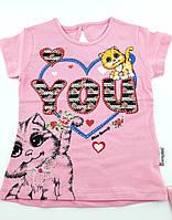 Футболка на девочку 3 4 6 лет футболки детские