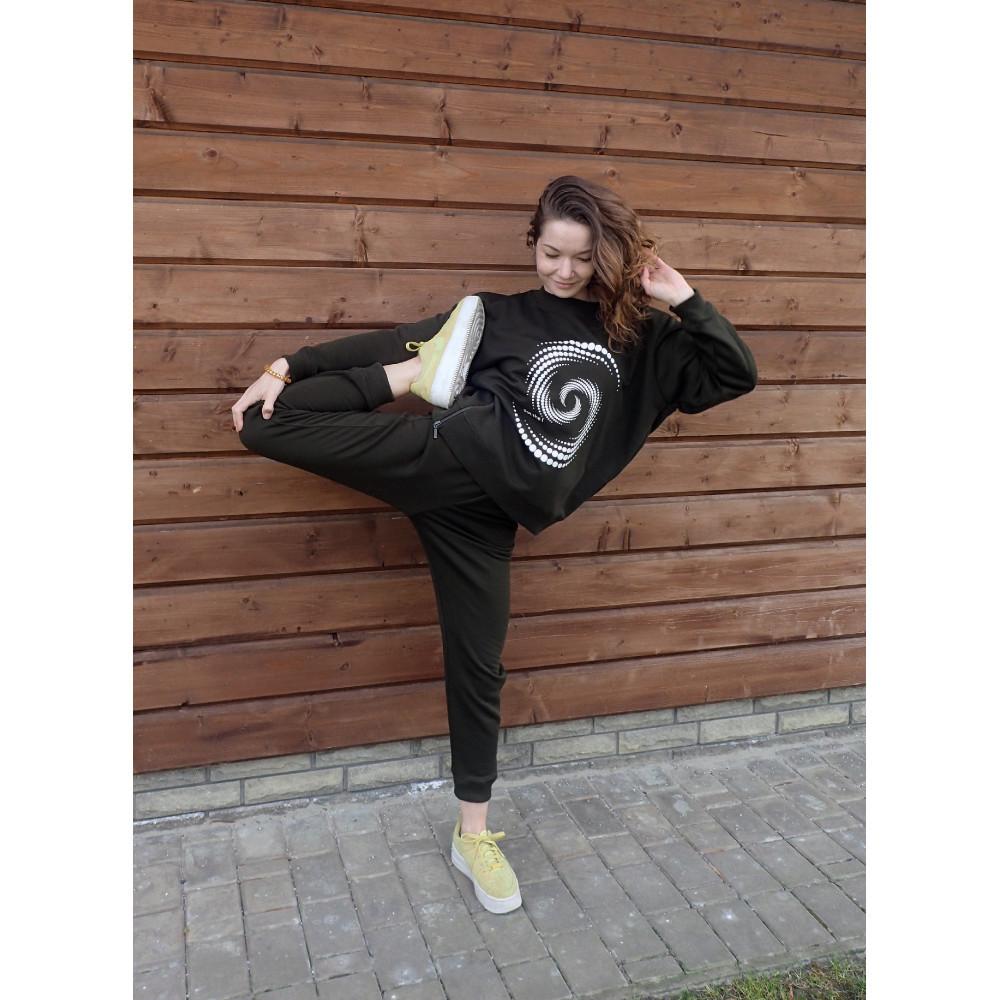 Спортивный костюм женский Кьерэ Хаки