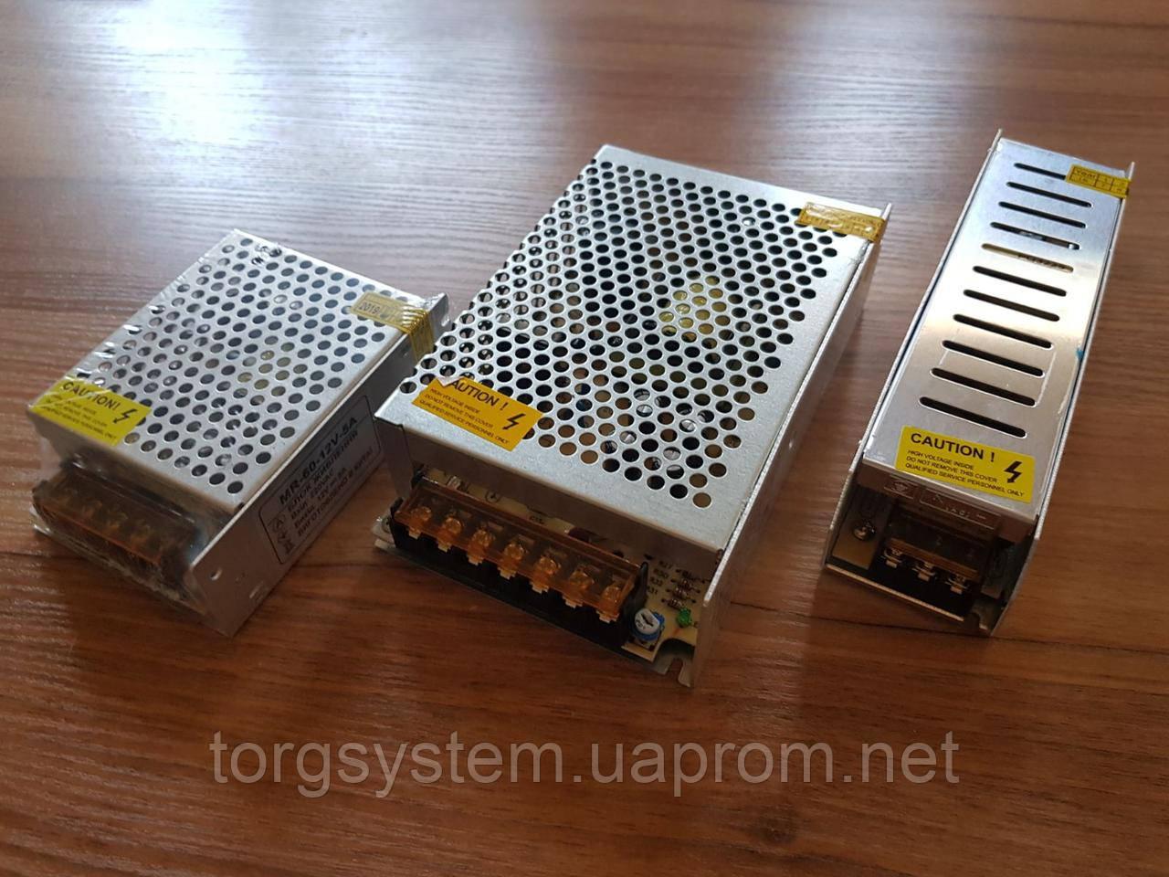 Блок живлення 150W- IP20 12V