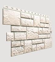 Фасадная панель Docke Burg белая (камень)
