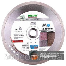 Алмаз. диск Distar по кераміці граніту 1A1R 250x1,7x10x25,4