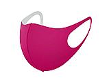Трехслойная защитная маска многоразовая (неопрен), коричневый/красный, фото 9
