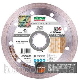 Алмазный диск Distar 1A1R 125x1,5x8x22,23 Bestseller Ceramics