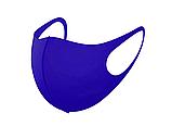 Трехслойная защитная маска многоразовая (неопрен), коричневый/красный, фото 10