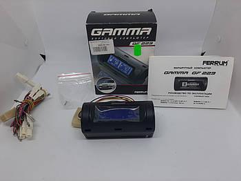 Бортовой компьютер Gamma GF 223 для Нива-Шевролет 2123 (синий)