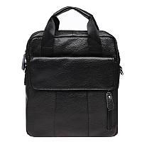 Мужская кожаная сумка Akor Leather akK18863-black