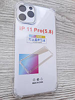 """Чехол для iPhone 11 Pro 5.8"""" силиконовый прозрачный TPU Transparent"""