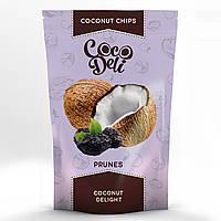 """Кокосовые чипсы с черносливом """"Coco Deli"""", 30гр"""