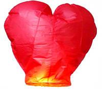 Китайские фонарики в форме сердца