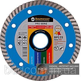Алмазный круг Baumesser 1A1R 125x2,2x8x22,23 Beton PRO